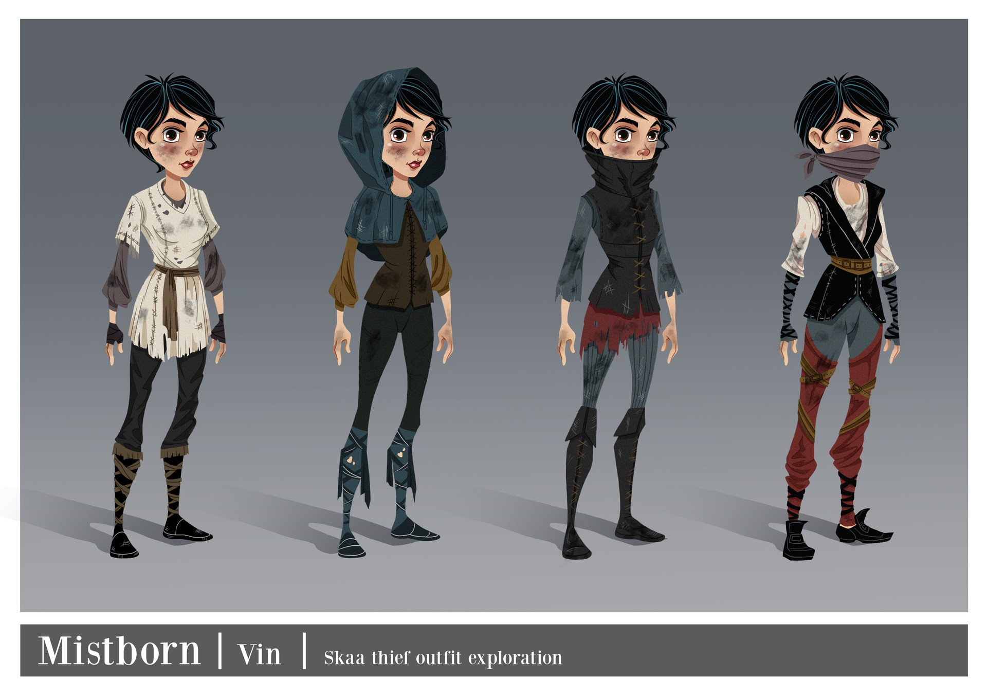 Vin - skaa thief outfit exploration