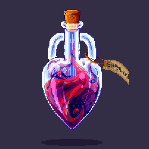 Commission // Love/lust potion