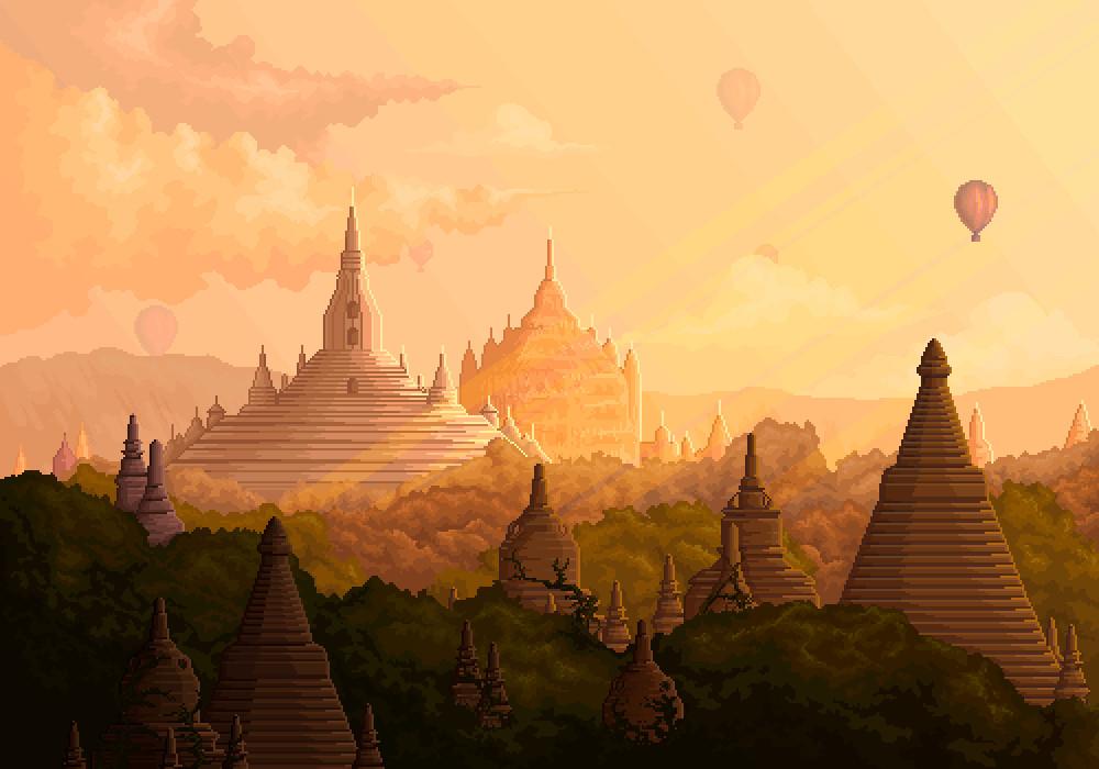 Commission // Bagan Myanmar