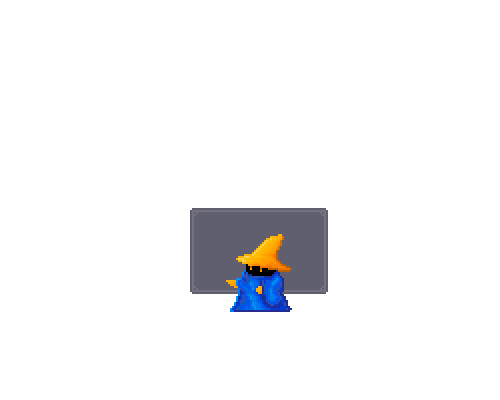 Pixel Fanart #14 // Black Mage