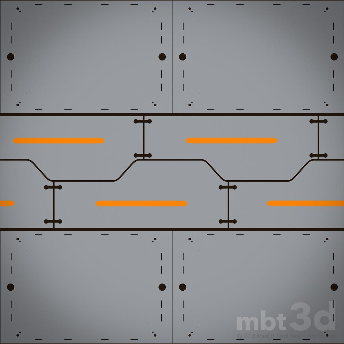 Sci-Fi Plate Albedo
