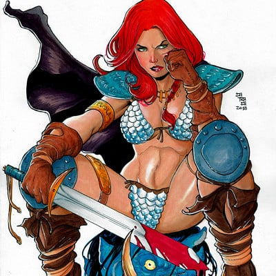Rodrigo catraca red sonja colors2