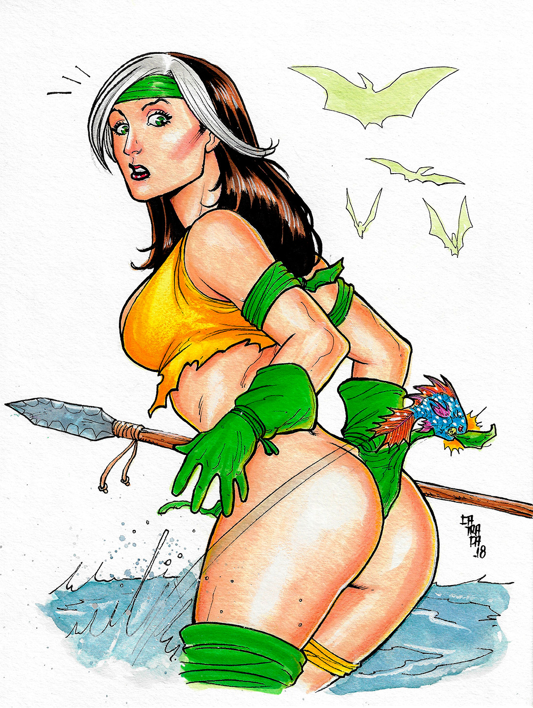 Rodrigo catraca rogue savage land