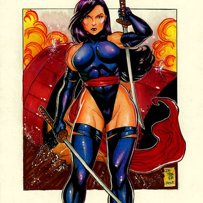 Rodrigo catraca psylocke colors final