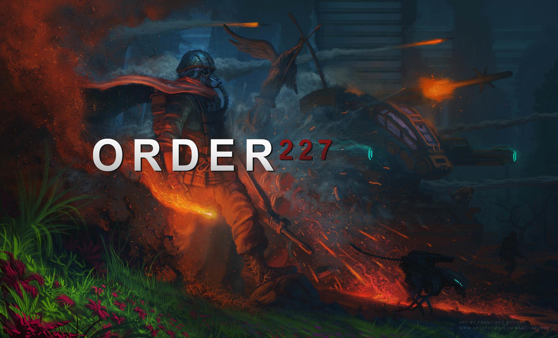 Francisco badilla order 227 cover art