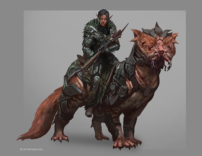 Raph lomotan sf elven survivalist