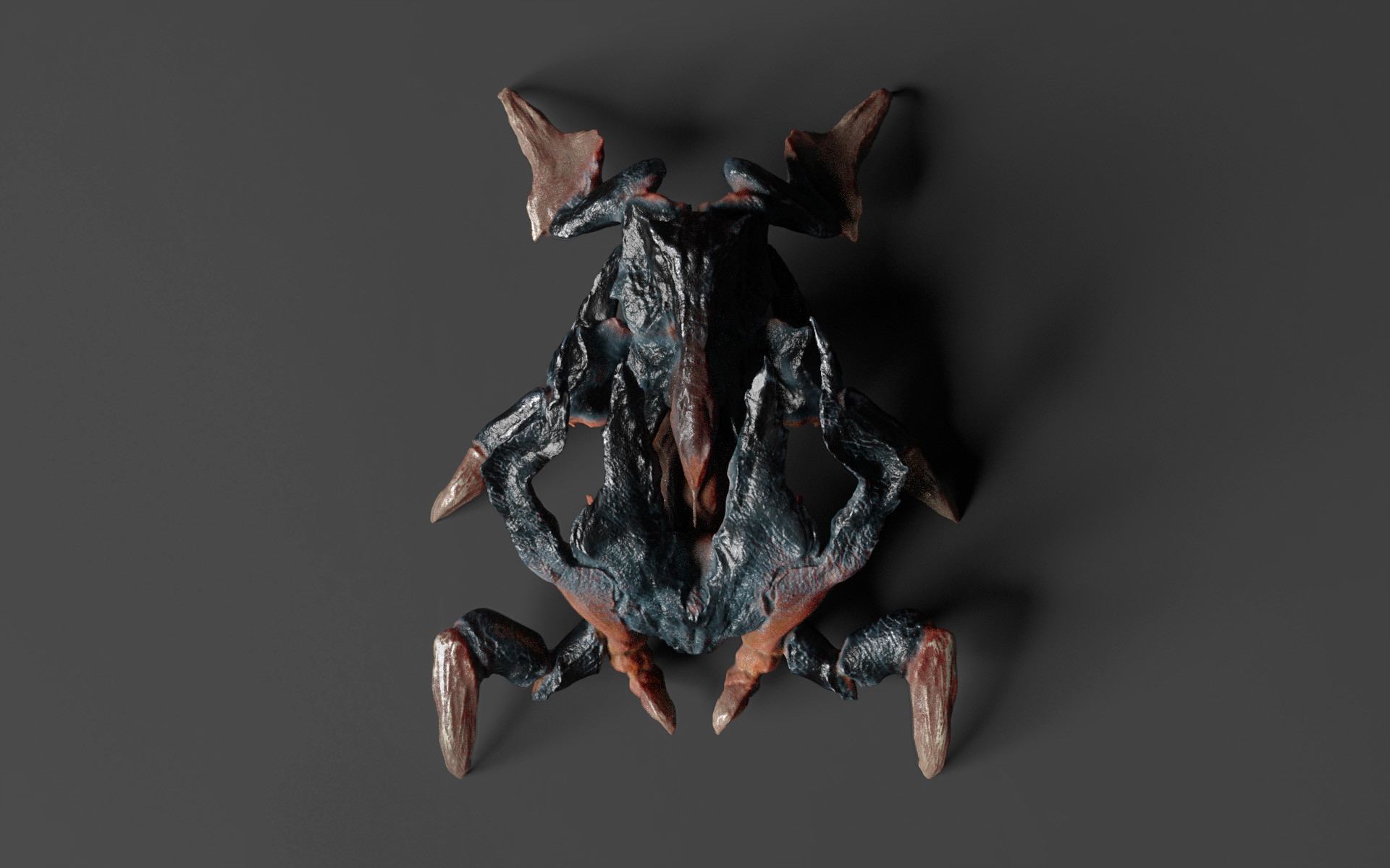 ArtStation - Crab Inspired Creature - Sculptris Pro Test