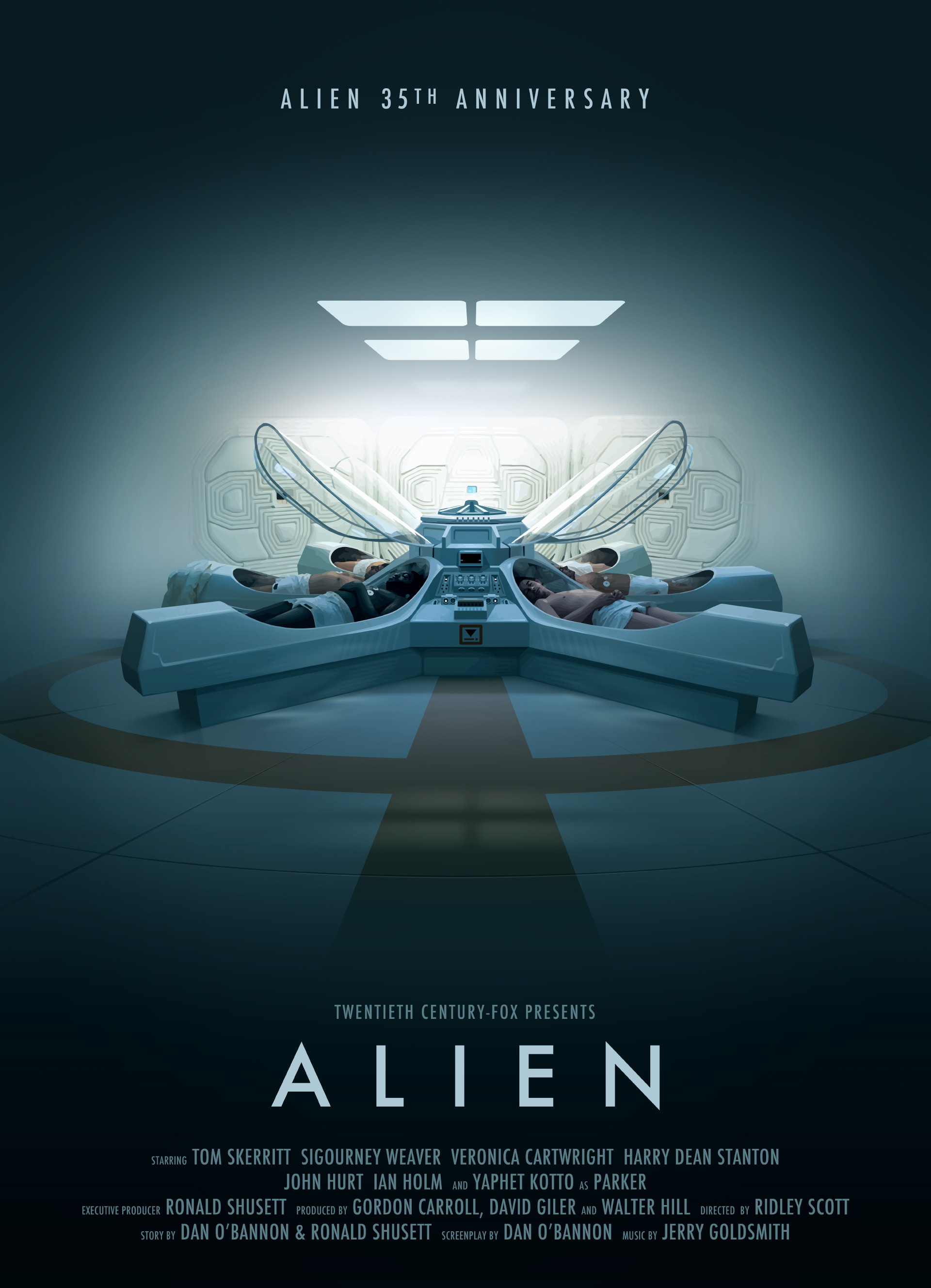 Alien 35th Anniversary Poster