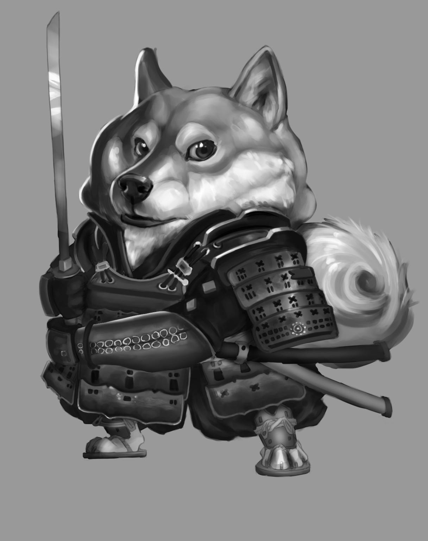 Anthea zammit shiba inu samurai values