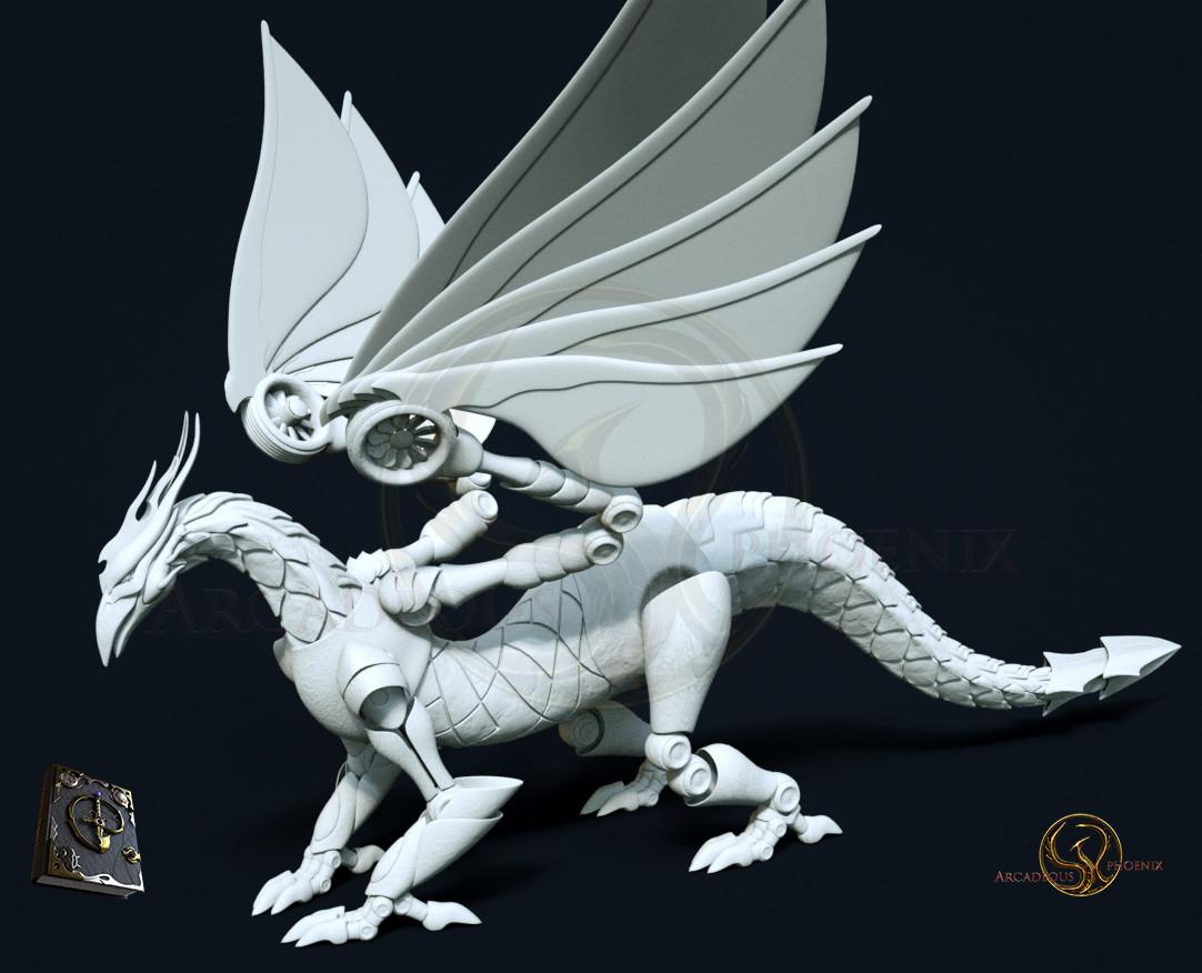Arcadeous phoenix cw dragon prefinal