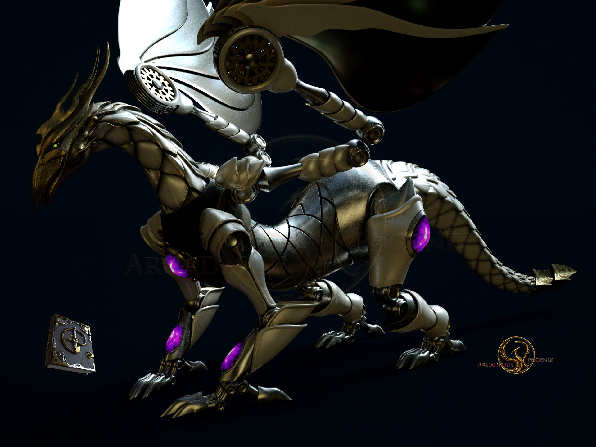 Arcadeous phoenix clockwork dragon 0014