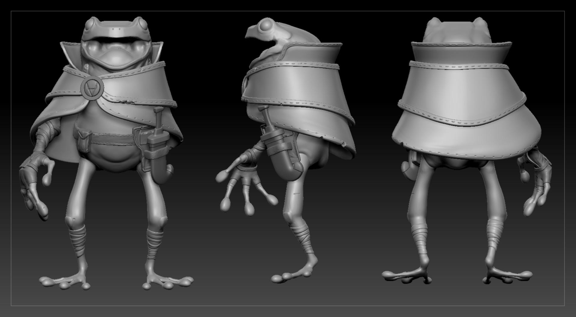 ArtStation - Toad, the Frog Rogue, Vladimir Karin