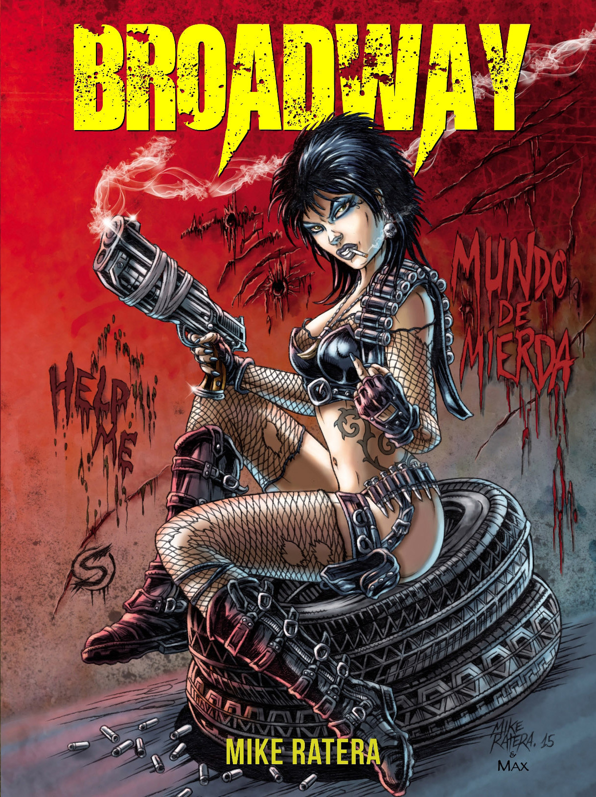 Mike ratera broadway cover c1