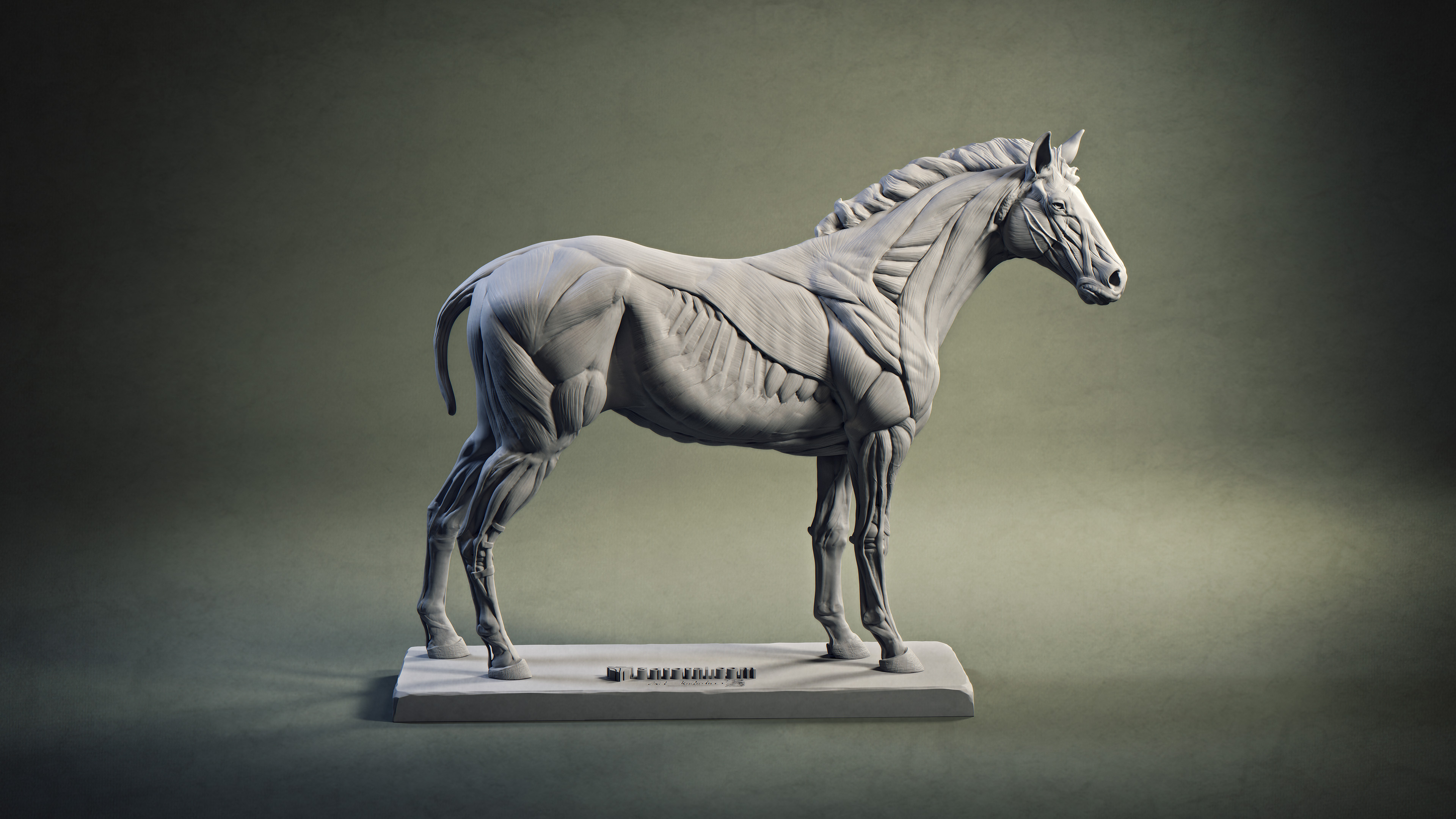 Quarter horse - Render I did for the Postcard. Made with Maya and Arnold.