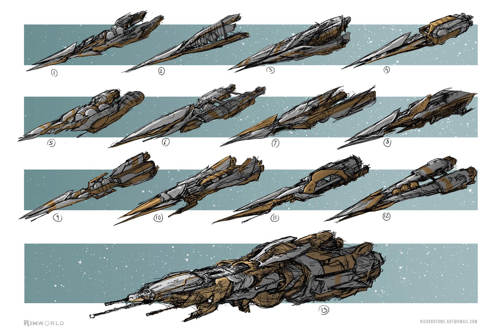 Rimworld - Spaceship Designs Pt.2