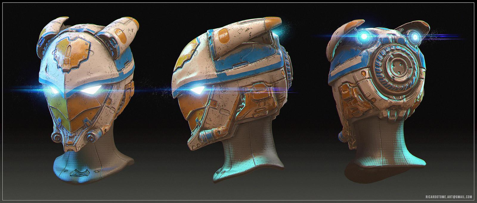 Orion's Hunt - Helmet Design