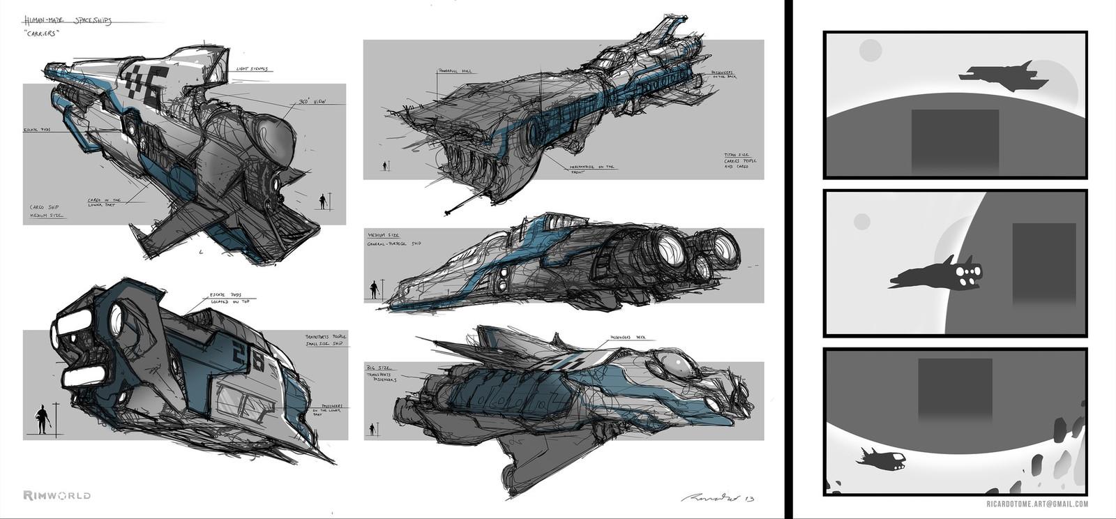 Rimworld - Spaceship Designs Pt.1