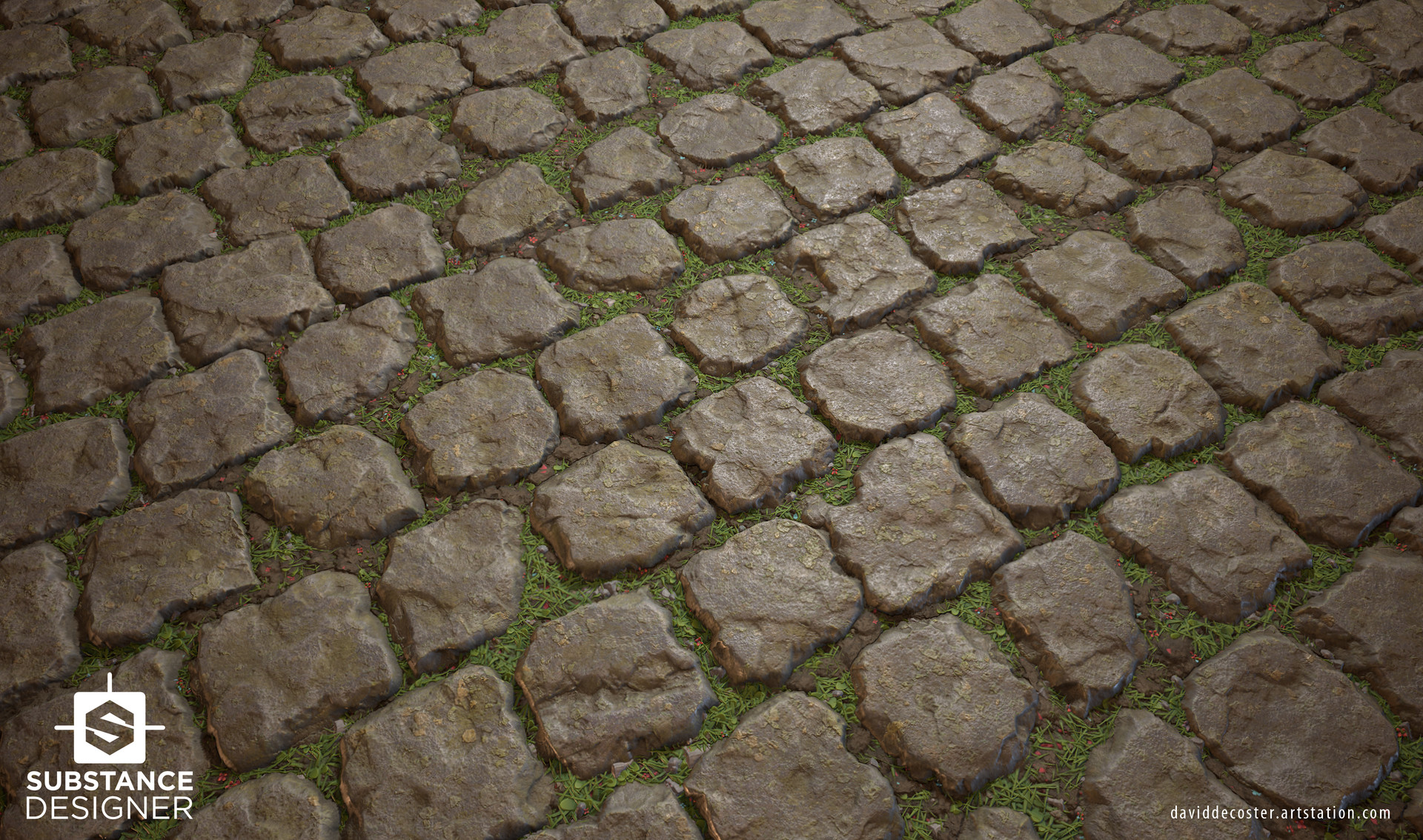 David decoster decoster grassy pavement 02
