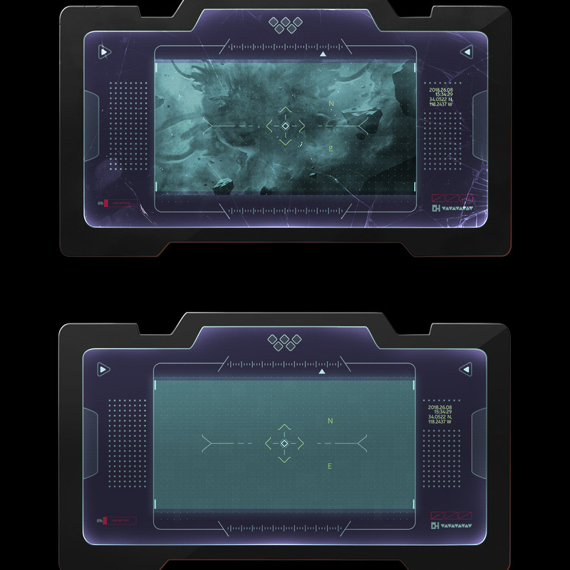 Space Tablet FUI