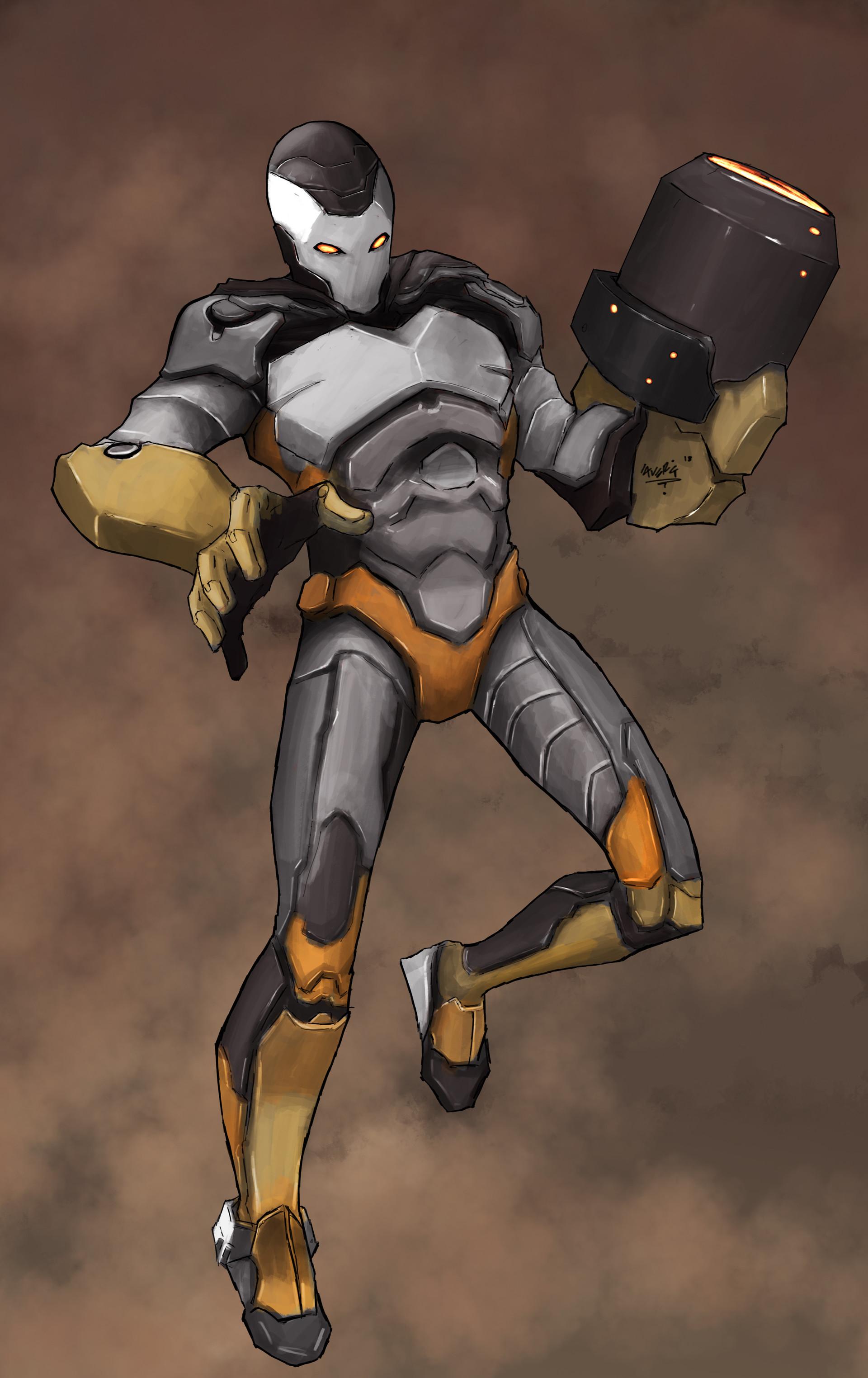 Gbenle maverick cyborg ig work 2