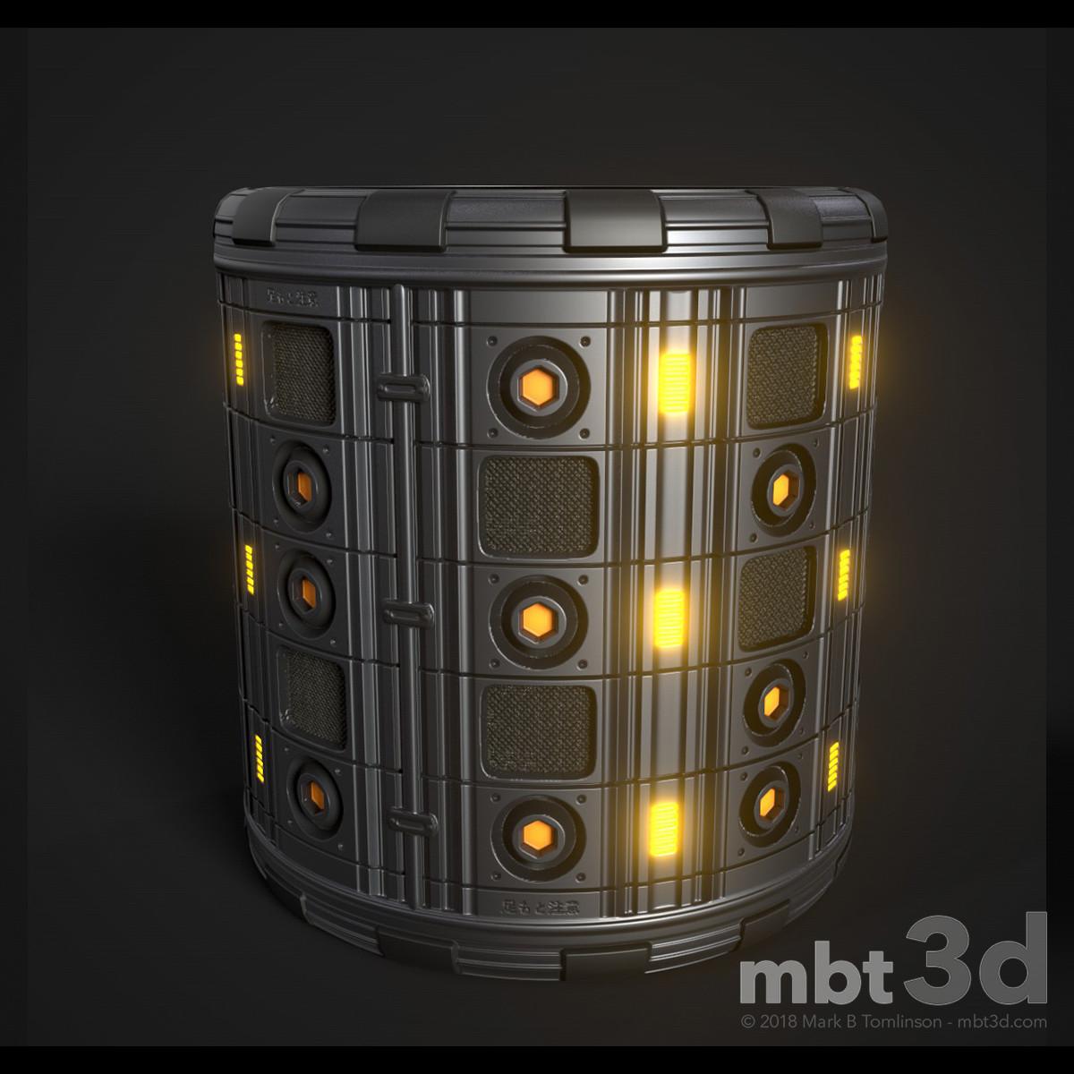 Sci-Fi Column alternative colour