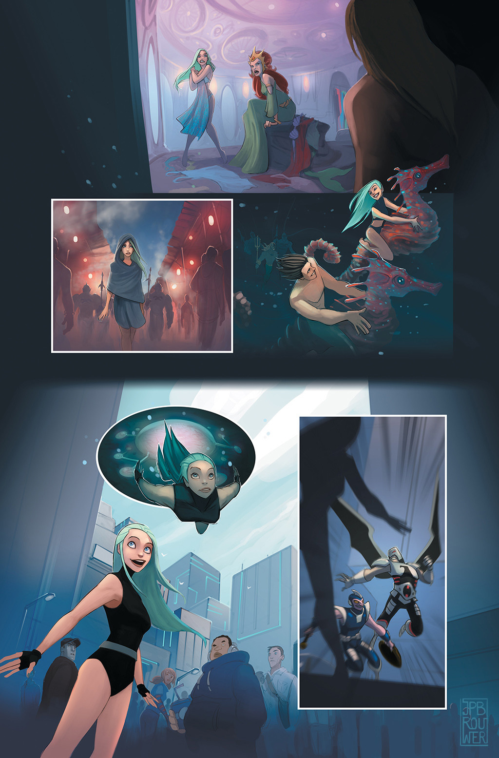 James brouwer jamesbrouwer beyondorigins aquagirl pg08