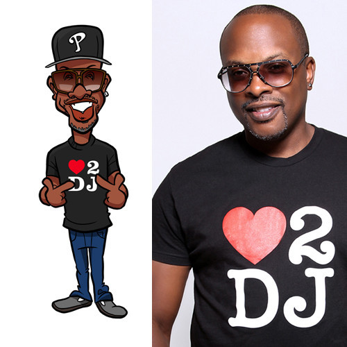 DJ Jazzy Jeff (DJ for Will Smith): https://www.instagram.com/djjazzyjeff/