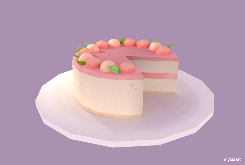 Elysia womersley cake1pfoliorender