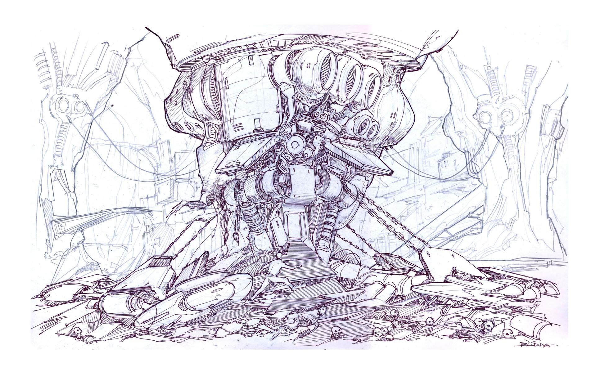 Alejandro burdisio boceto telm capsula y mnaquinaria