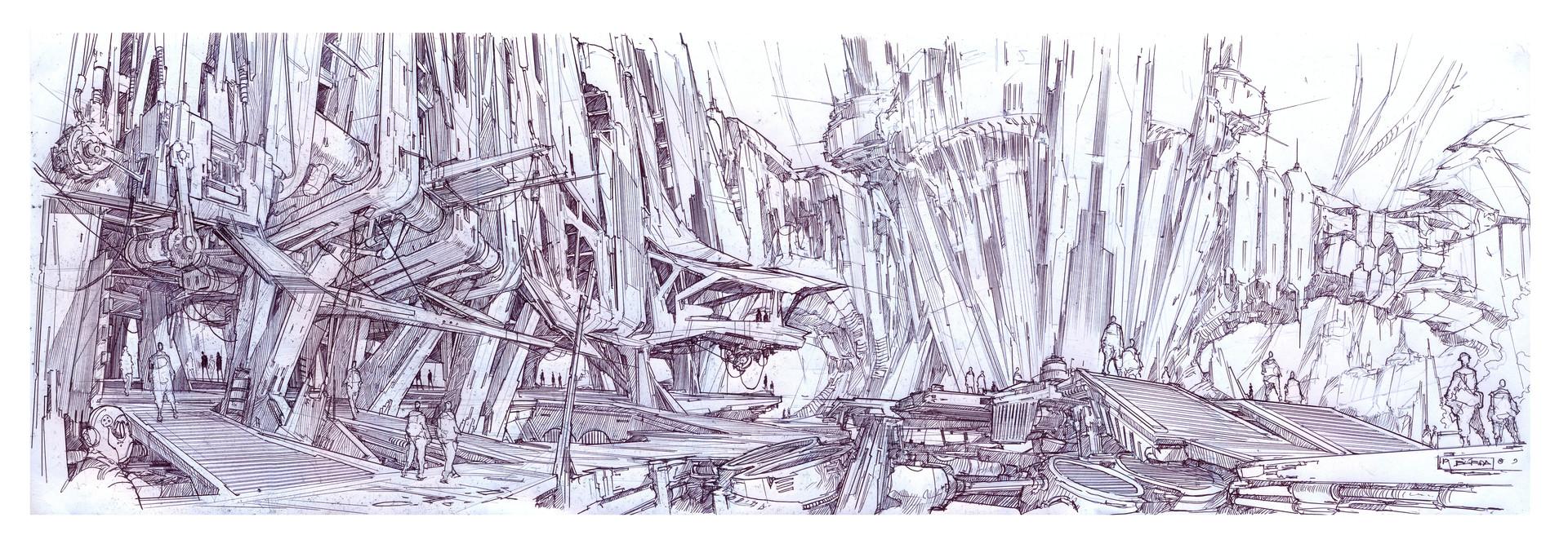 Alejandro burdisio boceto plaza telm panoramico1