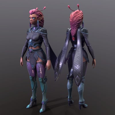 Alien Women Armored *Update*