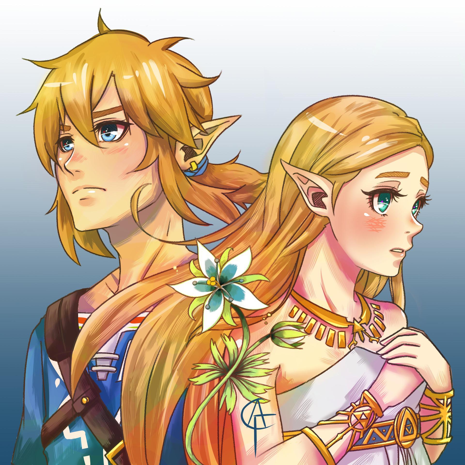 Artstation Legend Of Zelda Botw Fanart Cams Fernandez