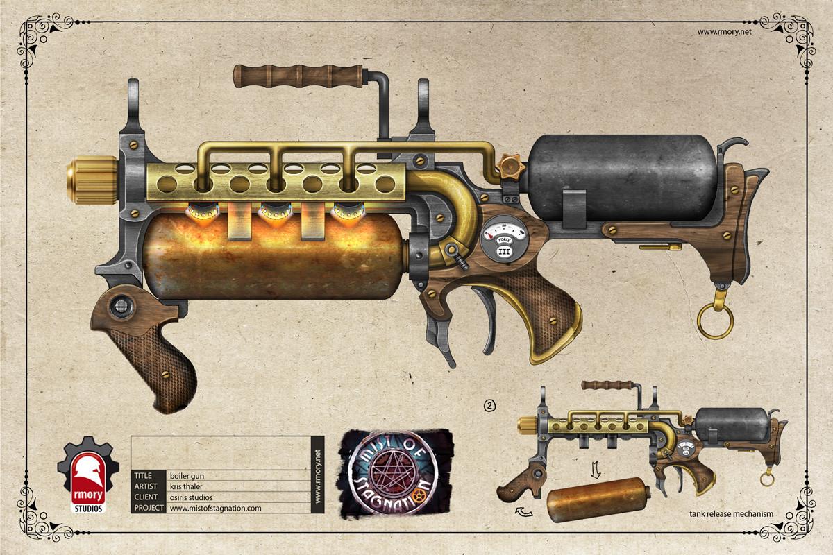 Boiler Gun - rmory studios