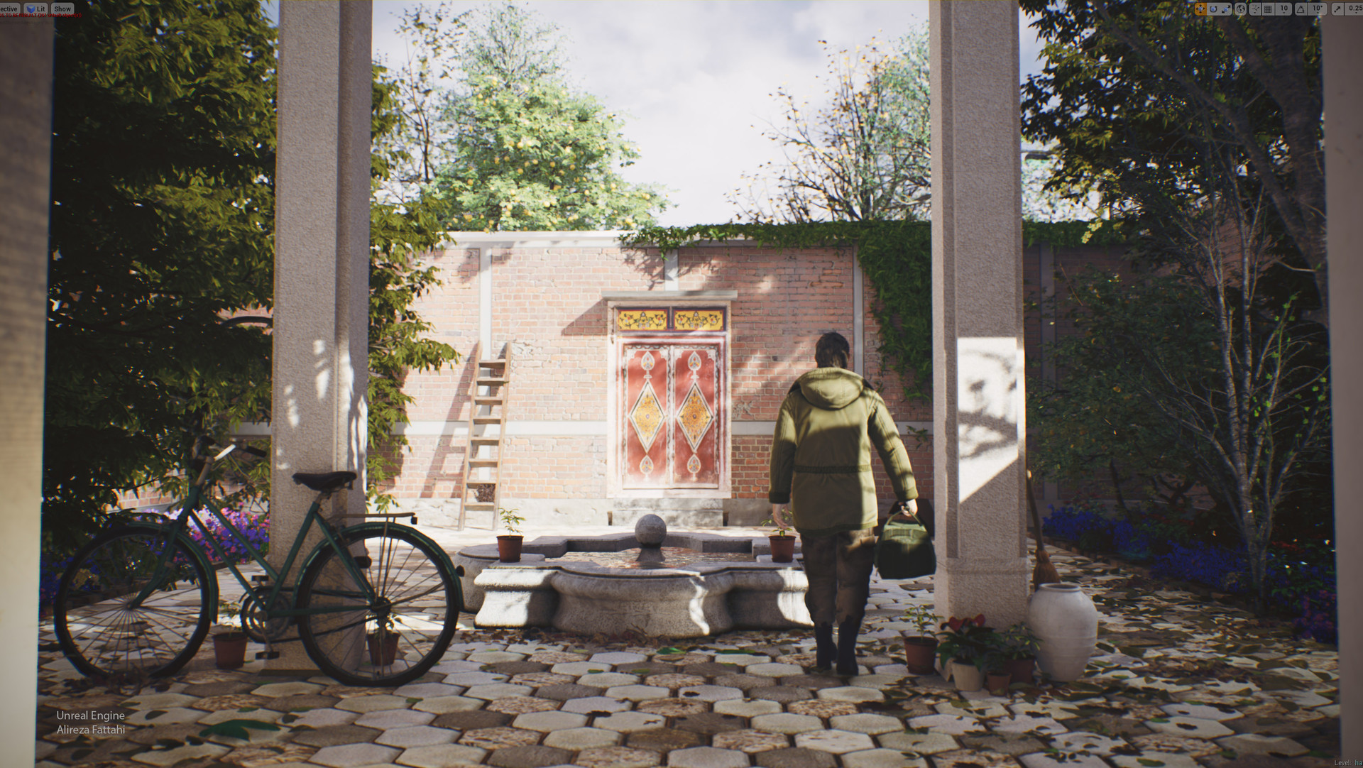 ArtStation - Some upcoming project using UE4, Mehran Fattahi