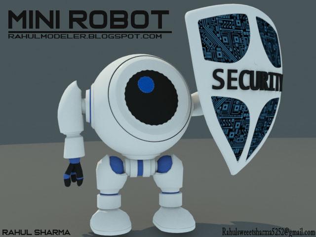 Rahul Sharma Mini Robot Model