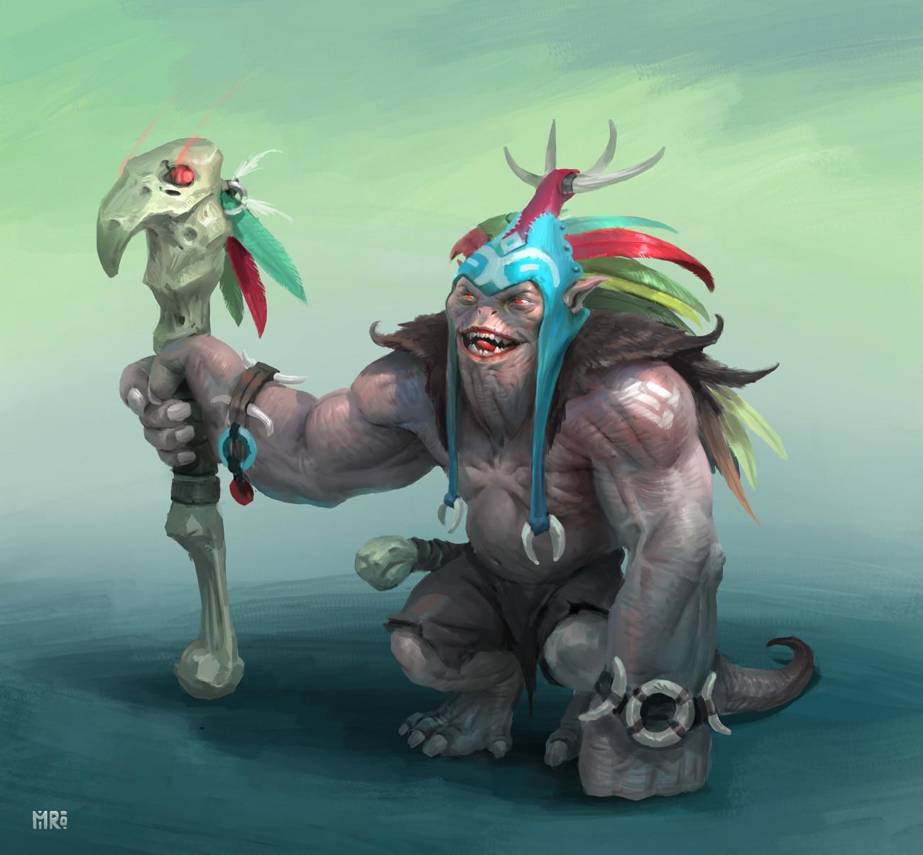 The shaman dude