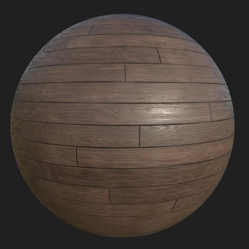 Substance Designer wood