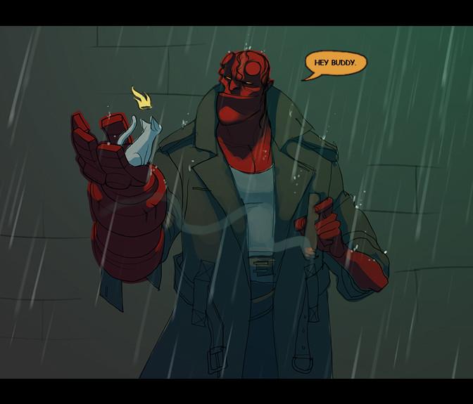 Matt rhodes hellboy
