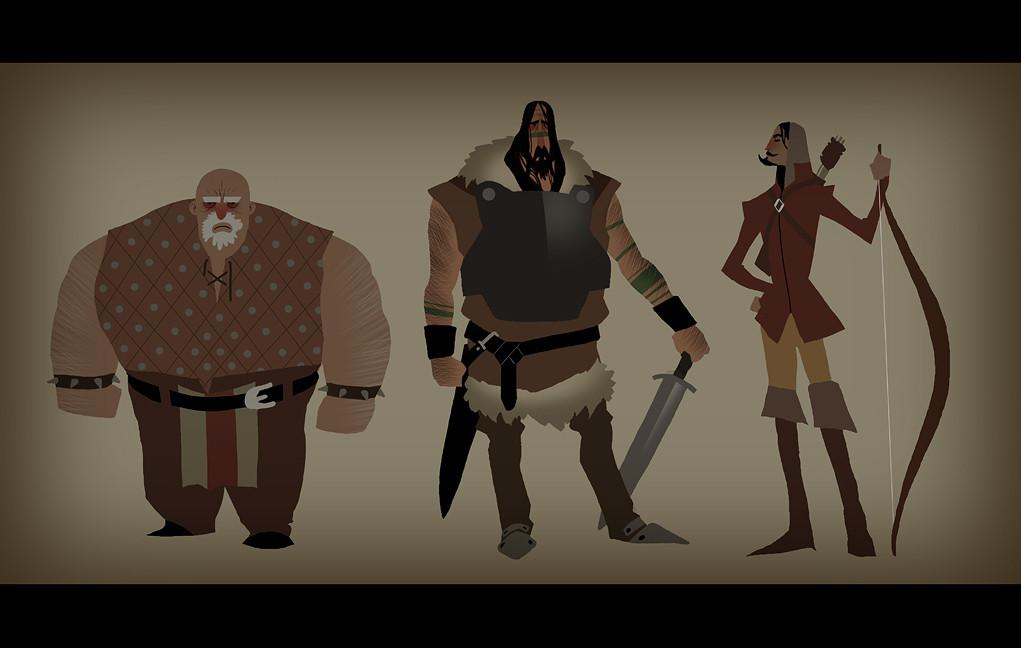 Matt rhodes viking characters