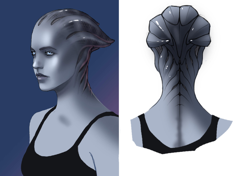 Asari head