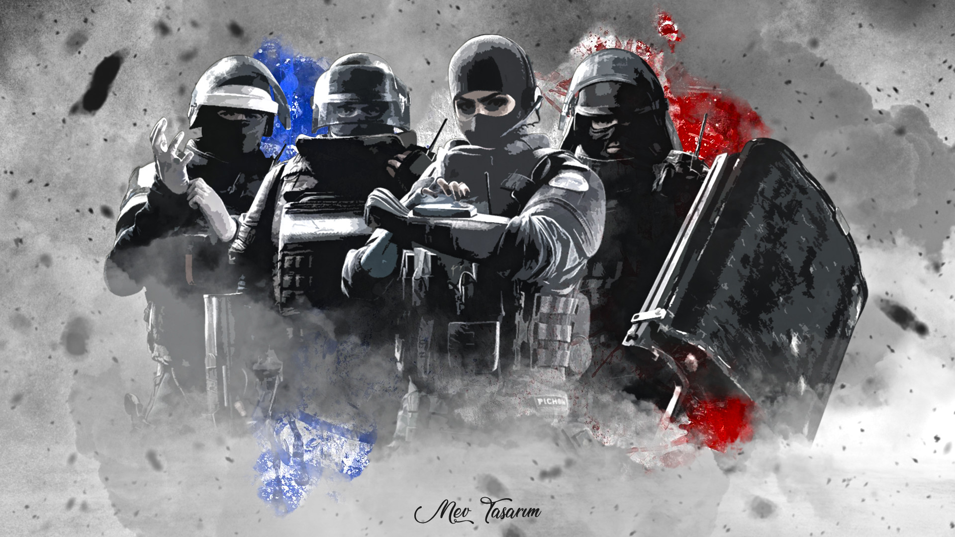 Mustafa Eren Vural Rainbow Six Siege Gign Team Wallpaper