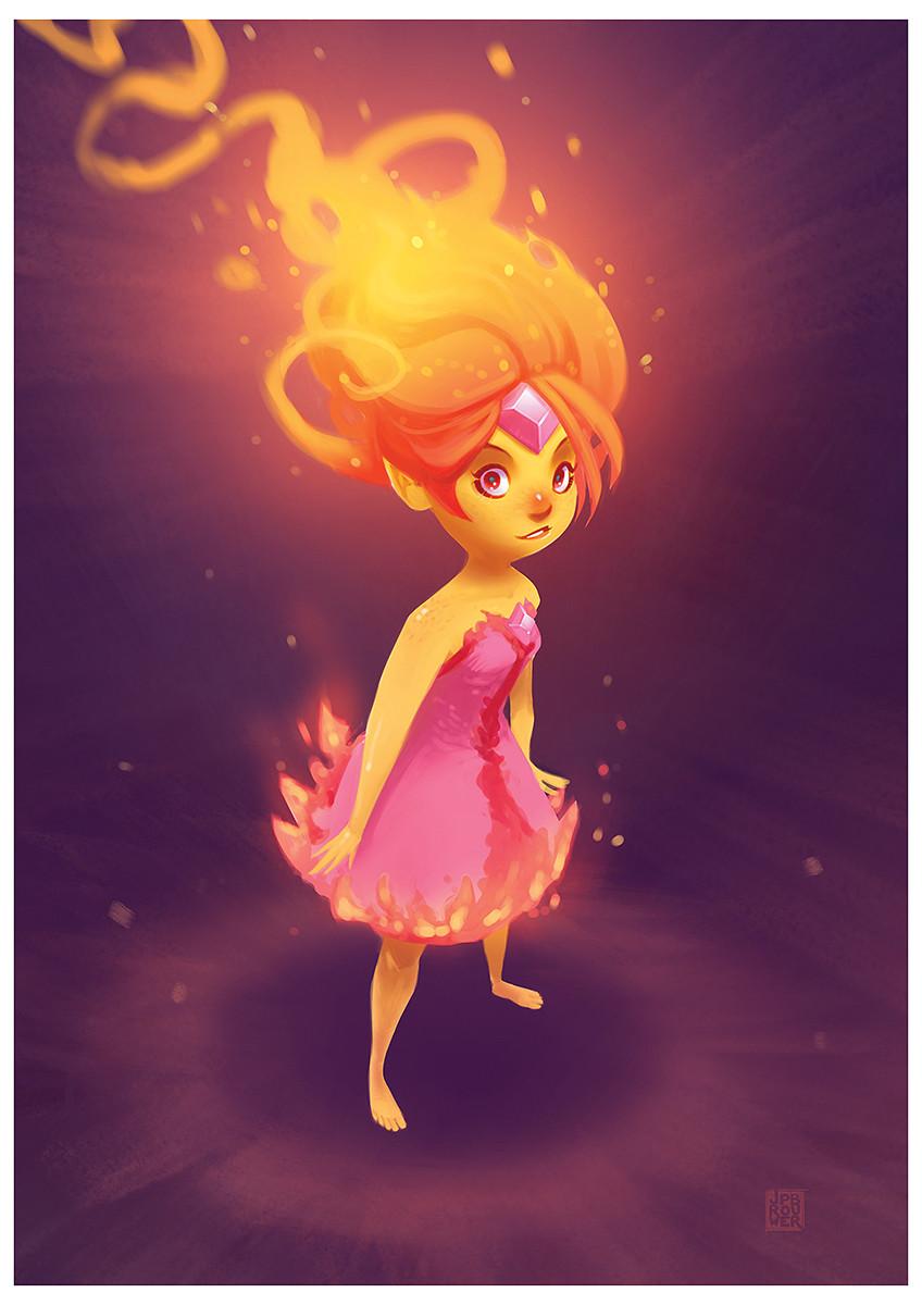 James brouwer flame princess