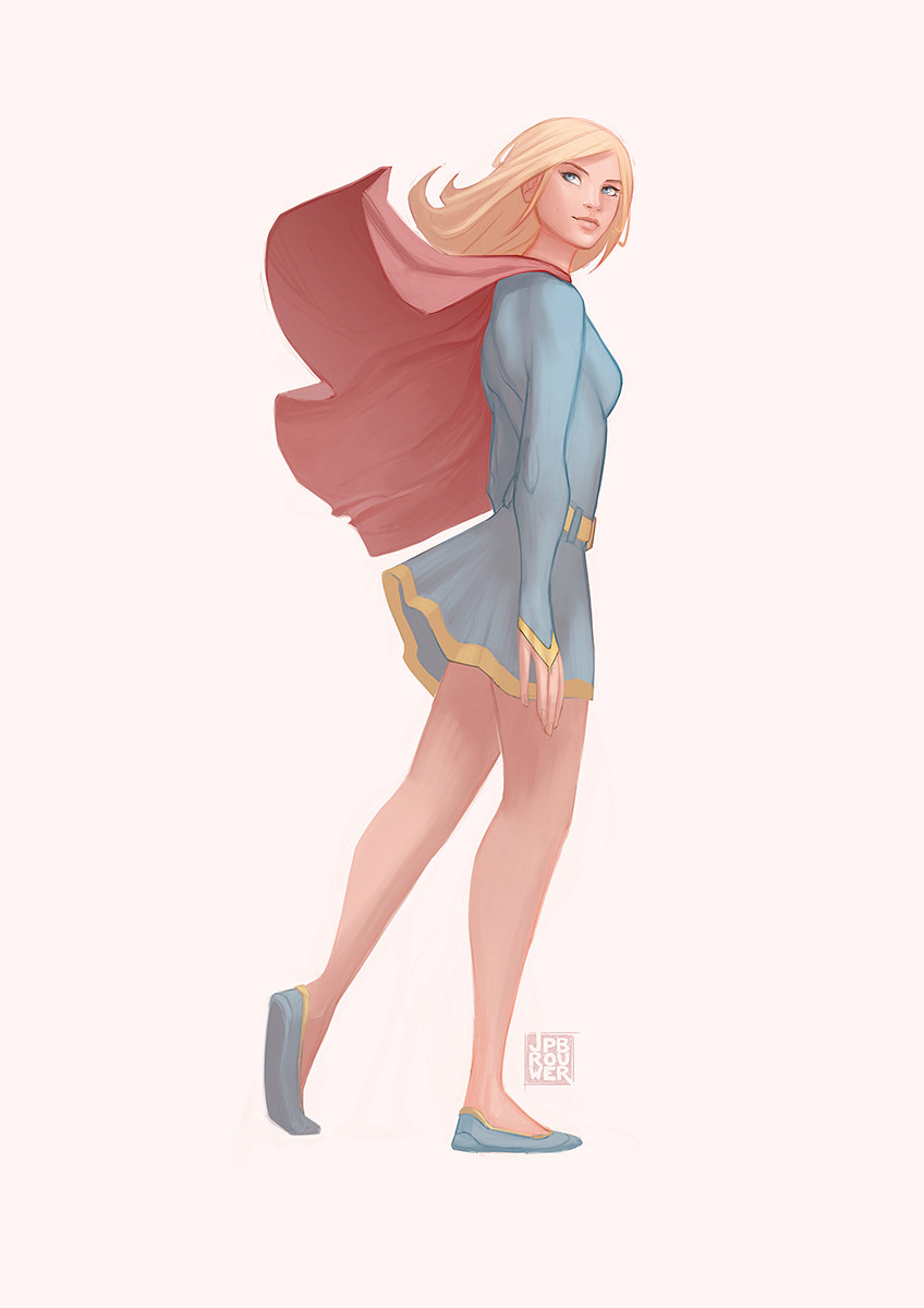 James brouwer supergirl
