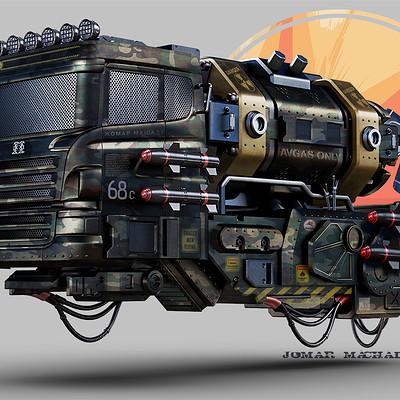 Jomar machado hover truck color