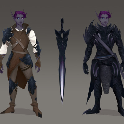 Void Paladin Armor Design