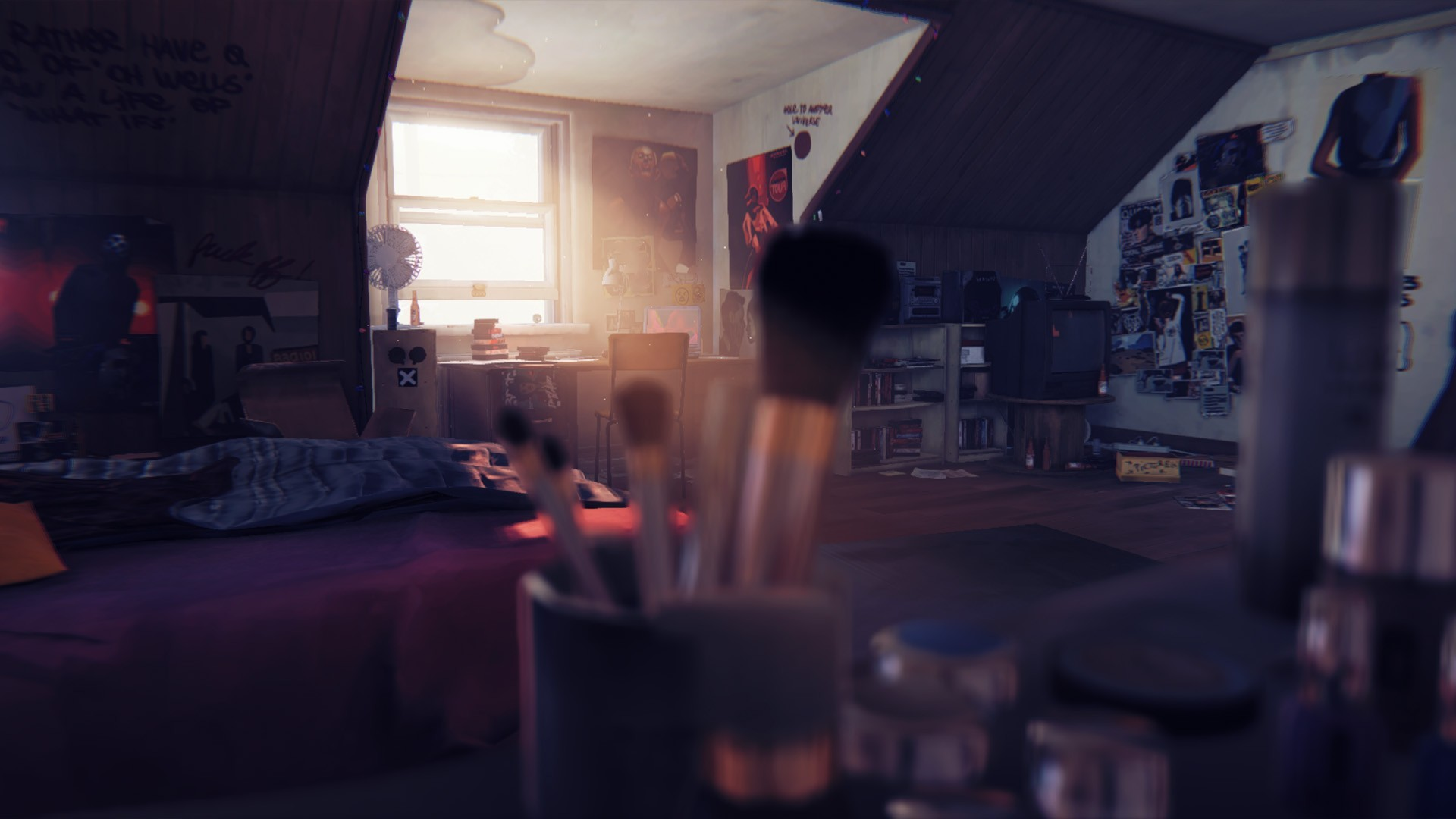 Game Concept Art Ref - Life is Strange 01