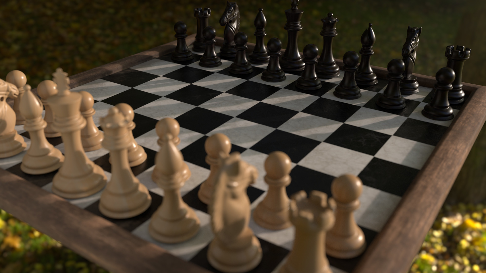 ArtStation - Chess Set Modeling and Texturing , Jessica Winters