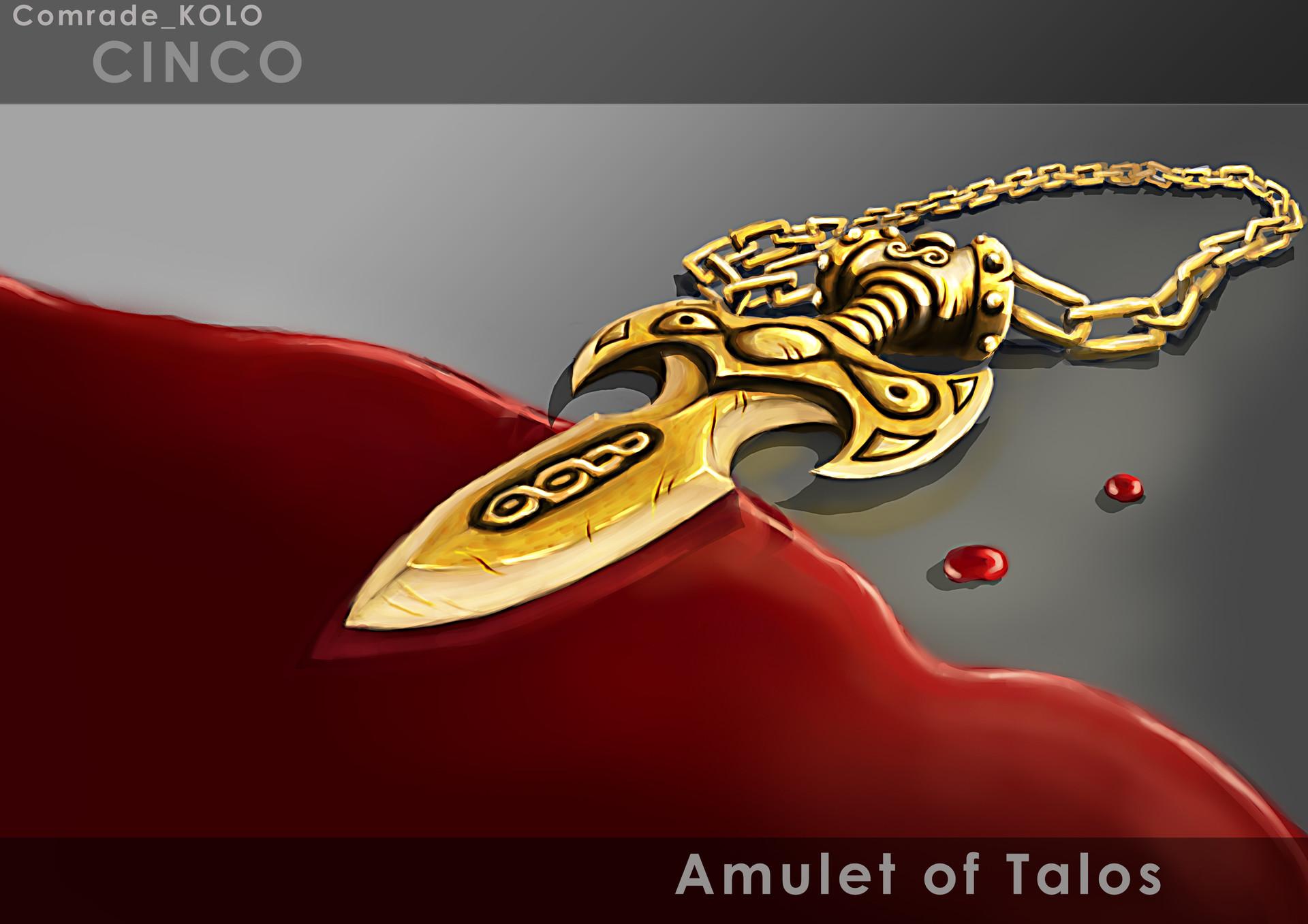 Amulet Of Talos anton kolomiets - ten 4 ivan challenge