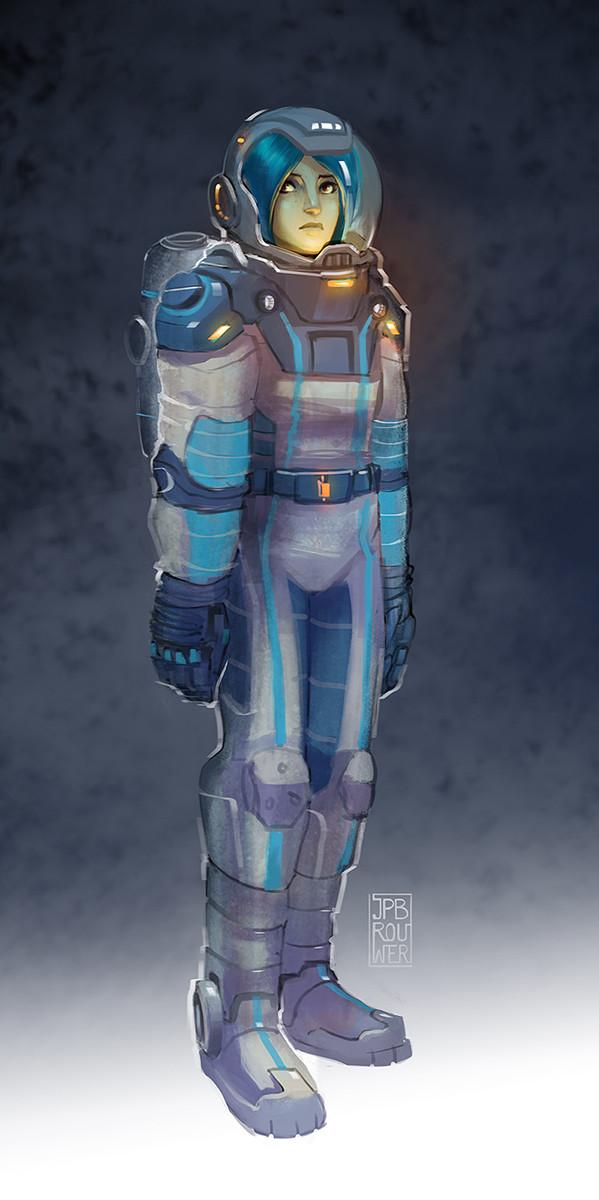Suit design for a comics/film project.