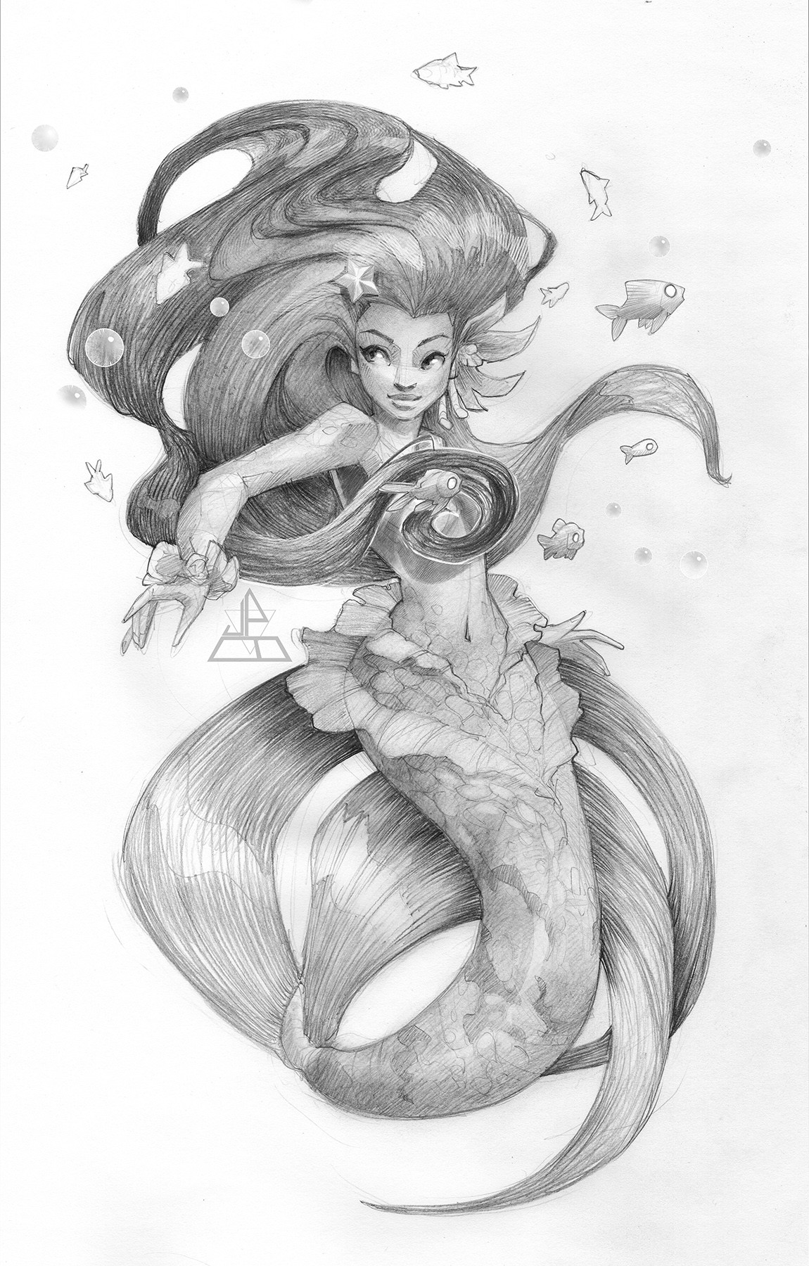 James brouwer mermaid02